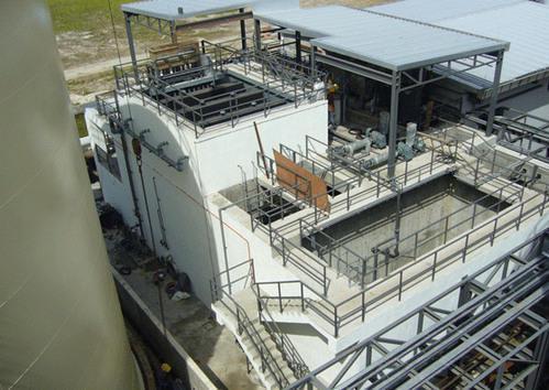 industriële afvalwaterbehandelingsaanleg